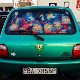 A full Slovak car
