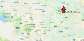 Colle di Tora Map