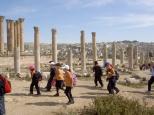 School trip to Jerash