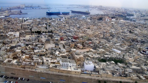 Tripoli Medina and harbour