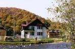 The house near the dam