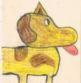 Ludovig's dog by Sam