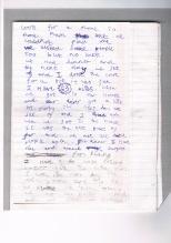Sam's diary