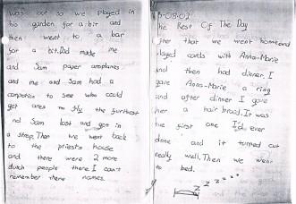 Martha's diary