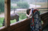 Rain-hairwashing at the doctor's house