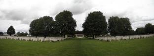 British cemetery memorial