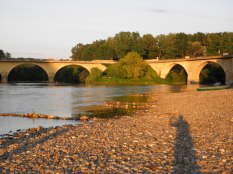 Where the Dordogne meets the vezere river
