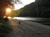 Dordogne in the evening