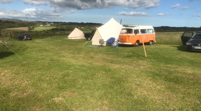 Cool camping in cornwall
